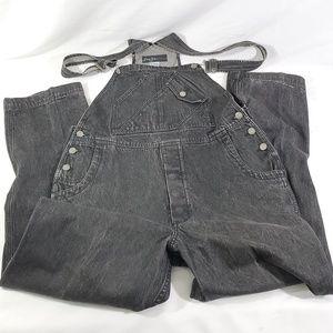Sean John Jeans - Sean John Men's Denim Overalls Size Medium Black